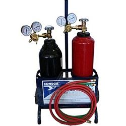 Comprar Conjunto portátil com cilindros de solda Oxigênio / Acetileno-Condor
