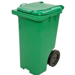 Comprar Contentor / coletor de 120 Litros verde com rodas-Lar Plásticos