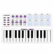 Controlador Midi 25 Teclas 8 Pads Interface USB 2.0
