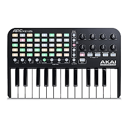 Comprar Controlador Para Ableton Live Com Teclado Embutido-AKAI