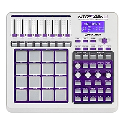 Comprar Controlador R�tmico DJ Profissional USB MIDI com 16 pads-Waldman