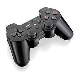 Comprar Controle Joystick 3 em 1 sem Fio PS3 PS2 PC com Bateria-Multilaser