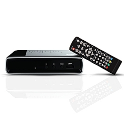 Comprar Conversor Digital Full HD com Entrada USB para filmes e fotos na tela da TV-Proeletronic
