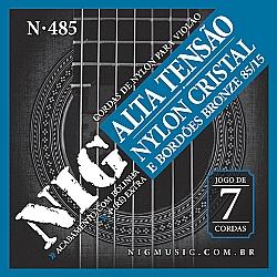 Comprar Corda Violão Nylon 7 Cordas Nig N485 Alta Tensão-Nig