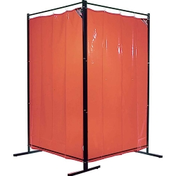 Comprar Cortina de solda laranja 1,22 X 1,78 metros sem suporte-Carbografite