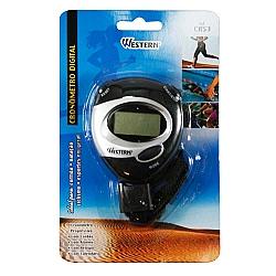 Comprar Cron�metro Progressivo Digital com Alarme , Resolu��o do Cron�metro: 1/100 segundos - CR-53-Western