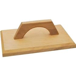 Comprar Desempenadeira de madeira sem espuma 17 x 28 cm-Eccofer