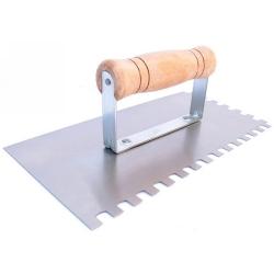 Comprar Desempenadeira em aço dentada 120 x 250mm-Vonder
