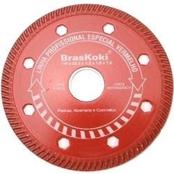 Comprar Disco diamantado 180 mm corte à seco refrigerado-Braskoki
