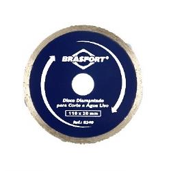 Comprar Disco diamantado �gua liso 110 x 20 mm-Brasfort