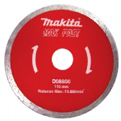 Comprar Disco diamantado Liso 110mm - MAK FAST-Makita