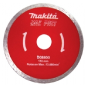 Disco Diamantado Liso 110mm - MAK FAST