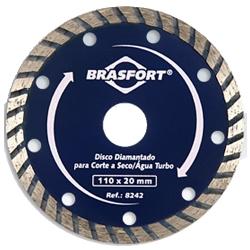 Comprar Disco diamantado seco / água 110 x 20 mm-Brasfort