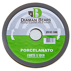 Comprar Disco 110mm Liso Porcelanato-Diaman Bears