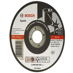 Comprar Disco corte 115 x 1,6mm e furo de 22,23mm-Bosch