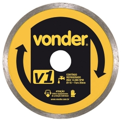 Comprar Disco de corte diamantado 110 mm-Vonder