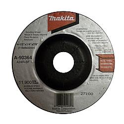 Comprar Disco de debaste para metal4 1/2 gr�o 24 - A-90364-Makita