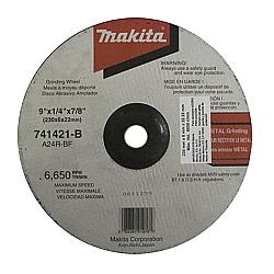 Comprar Disco de desbaste para metal 9 grão 24 - 741421-B-Makita
