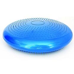 Comprar Disco de Equil�brio com Bomba de Ar Cor Azul com 34cm de Circunfer�ncia-ACTE Sports