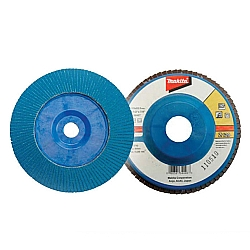 Comprar Disco de Lixa Costado de Nylon 180mm grão 120, Flap - D36457-Makita