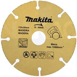 Comprar Disco de serra para madeira - 110x20mm-Makita
