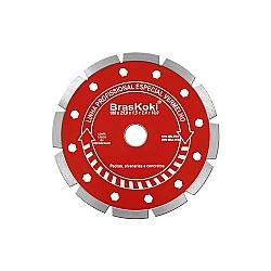 Comprar Disco Diamantado 180X25,4Mm e Bucha 22,3 mm - Vermelho-Braskoki