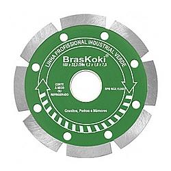 Comprar Disco Diamantado 180mm Segmentado L.Prof.Ind.Verde-Braskoki