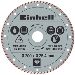 Comprar Disco diamantado 200 x 25,4 mm - Einhell-Einhell