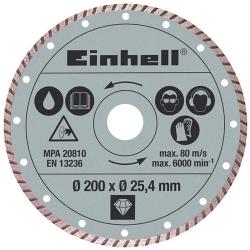 Comprar Disco diamantado 200 x 25,4 mm - Einhell-Einhell