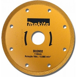 Comprar Disco diamantado Turbo 110mm - B-02602-Makita
