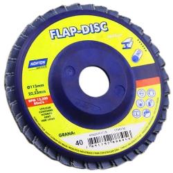Comprar Disco para desbaste 7'' x 7/8'' grão 60 - Flap Disc-Norton