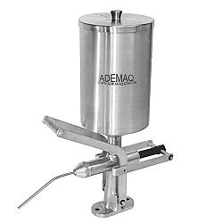 Comprar Doceira Recheadeira para Churros 5 Litros Copo em a�o inox escovado-Ademaq
