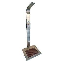 Comprar Ducha Advance Aço Inox com Misturador Água Quente-Sodramar