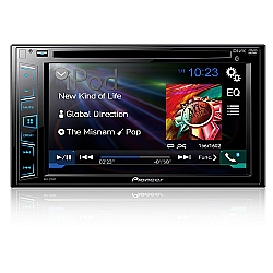 Comprar DVD Automotivo com Bluetooth 2-DIN Tela de 6,2 Multimidia USB - AVH-278BT-Pionner