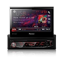 Comprar DVD Automotivo Retr�til com USB 1-DIN de 7 - AVH-3880DVD-Pionner