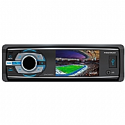 Som Automotivo SP4730DTV DVD Player TV Digital Tela LCD 3 Polegadas Painel Reclinável USB SD Card Bluetooth