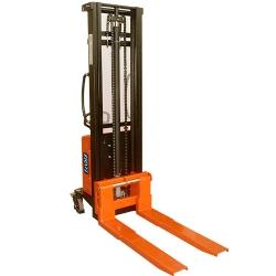 Comprar Empilhadeira semi-elétrica com elevação de 3,5 metros capacidade de 1500 kg - NSTM1535-Tander Profissional