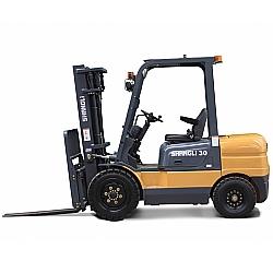 Comprar Empilhadeira a Diesel, 4,5 metros de Eleva��o, 3,0 Toneladas, Motor Xinchai 63 cv - CPCD30/3x-Shangli