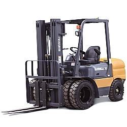Comprar Empilhadeira Dupla a Diesel, 4,5 metros de Elevação, 3,0 Toneladas, Motor Xinchai 63 cv - CPCD30/3XD-Shangli