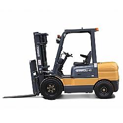Comprar Empilhadeira Dupla a Diesel, 4,5 metros de Elevação, 4,0 Toneladas, Motor Xinchai 68 cv - CPCD40/3XD-Shangli