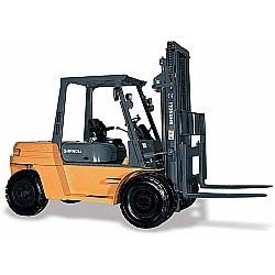 Comprar Empilhadeira Dupla a Diesel, 6 metros de Elevação, 7,0 Toneladas, Motor Xinchai 123 cv - CPCD70/36D-Shangli