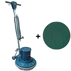 Comprar Enceradeira Industrial 1 HP - CL500 com Disco Limpador 510 mm - British-Cleaner
