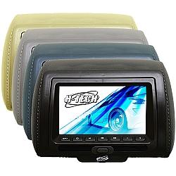 Comprar Encosto de Cabeça 7 com DVD / USB / SD Card sem Ziper-H-Tech
