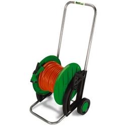 Comprar Enrolador de mangueira para jardim m�vel polipro com rodas - EM 65-Trapp
