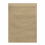 Envelope Saco Kraft Natural 110 mm x 170 mm 250 Unidades 80 Grs/m² - SKN 017