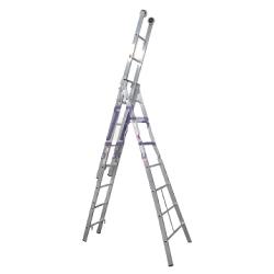 Comprar Escada de alumínio 3x13 degraus 4 em 1 - 3L113-Alulev