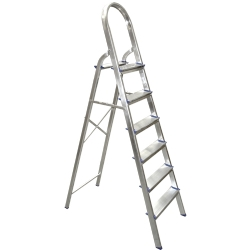 Comprar Escada de alumínio domestica 08 degraus-Conan