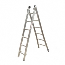 Comprar Escada de alumínio esticável 2x6 degraus-Alulev