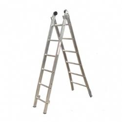 Comprar Escada de alumínio esticável 2x7 degraus-Alulev