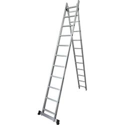 Comprar Escada de alum�nio extens�vel 2x14 degraus - TEA2X14-Tander Profissional